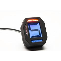 Digitálny ukazovateľ zaradeného rýchlostného stupňa