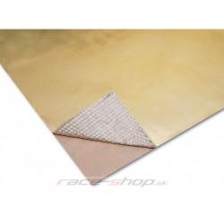 Zlatá samolepiaca tepelná izolácia Thermotec 61x61cm
