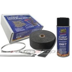 Thermotec sada: izolačná páska + impregnačný sprej + nerezové sťahovacie pásky