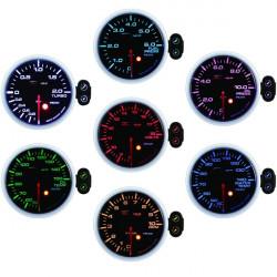Programovateľný Budík DEPO racing Pomer palivo/vzduch, 7 Farieb
