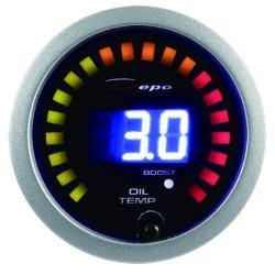 Digitálny Budík DEPO racing 2v1 Teplota oleja + Tlak turba Digital combo séria