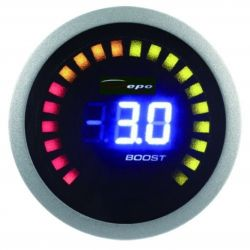 Digitálny Budík DEPO racing 2v1 Pomer palivo/vzduch + Tlak turba Digital combo séria