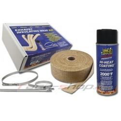 Thermotec sada: 2x izolačná páska + impregnačný sprej + nerezové sťahovacie pásky