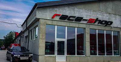 Predajňa Race-shop