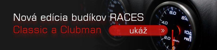 Budíky RACES